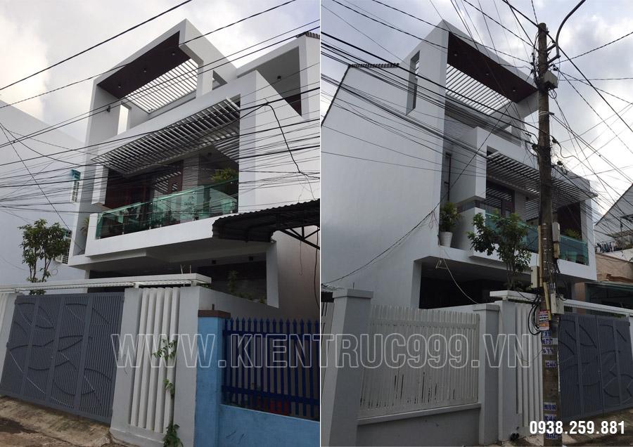 Xây nhà Buôn Mê 3 tầng số 10 đường Nguyễn Hiền.