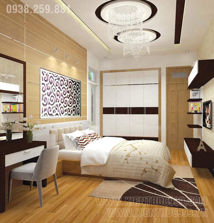 Biệt thự 1 tầng đẹp- nội thất phòng ngủ đẹp 5