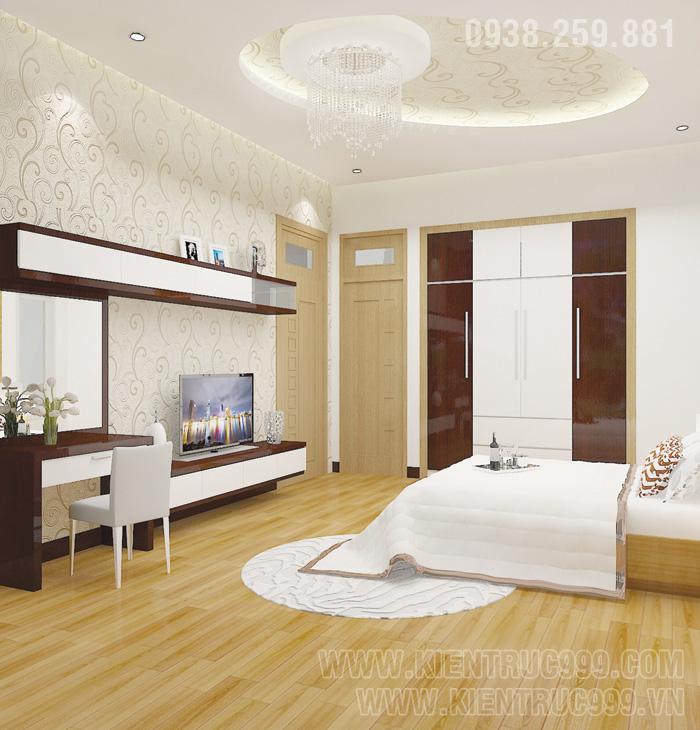 Biệt thự 1 tầng đẹp- nội thất phòng ngủ đẹp 2