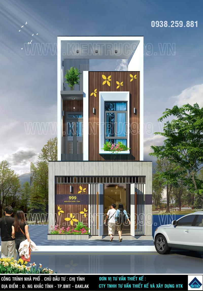 nhà phố 2 tầng đẹp-buon-me-khoe-ve-dep-noi-bat-khong-bao-gio-quen-2