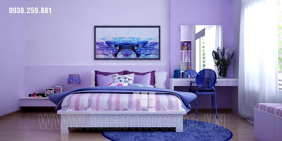 Thiết kế nội thất nhà đẹp Sài gòn 2018 phong cách cá tính 11