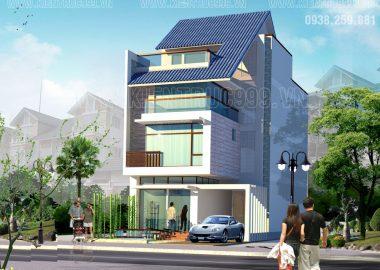 Thiết kế nhà đẹp Sài gòn phong cách cá tính.