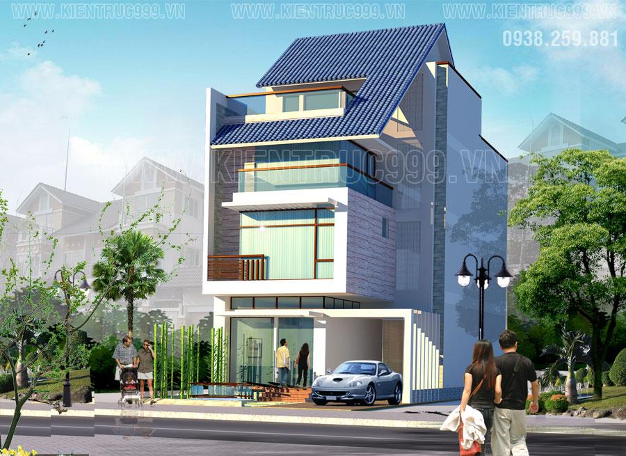 Thiết kế nhà đẹp Sài Gòn phong cách cá tính