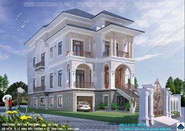 Biệt thự tân cổ điển thống trị thiết kế nhà đẹp việt vì sao?