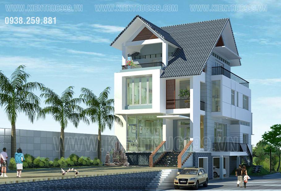 Thiết kế nhà đẹp tphcm đáng sở hữu.