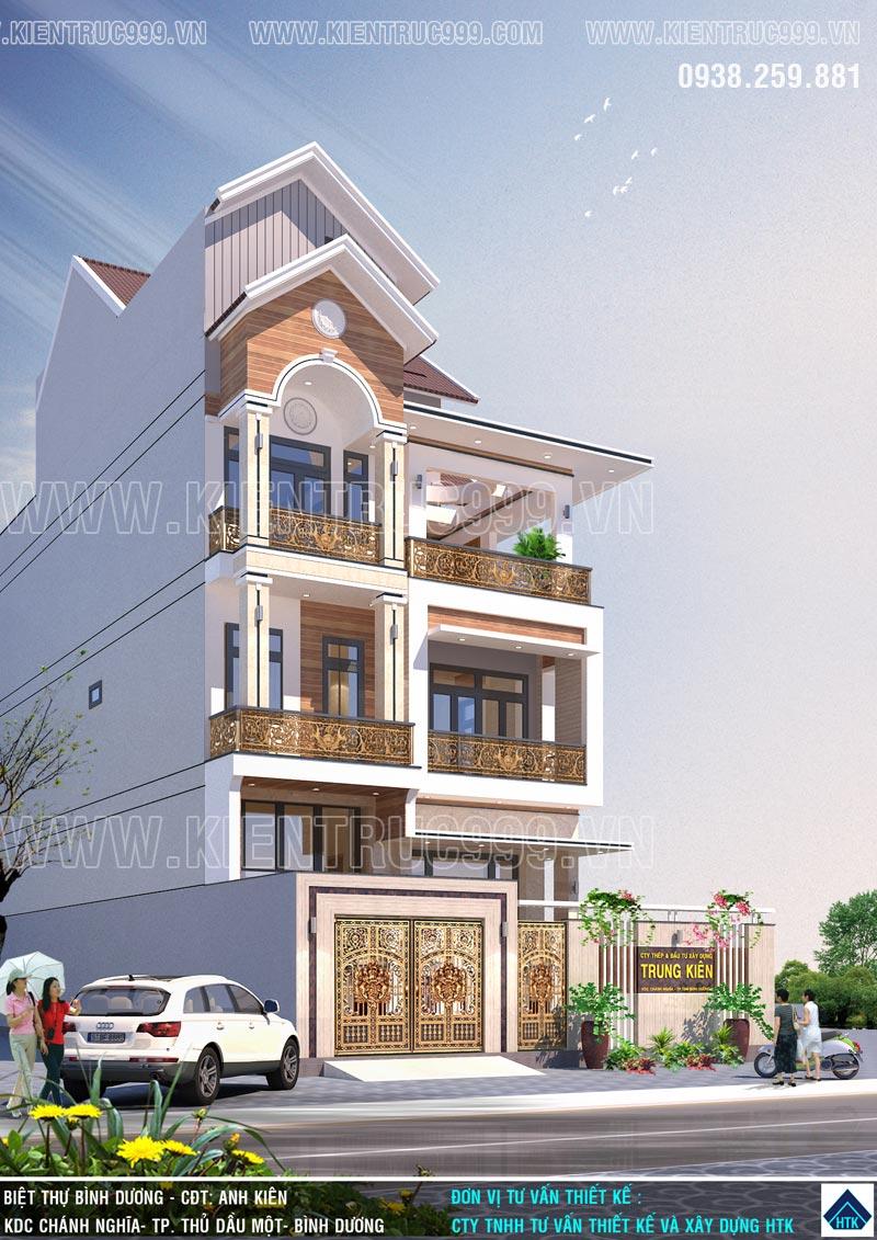 mẫu thiết kế nhà đẹp 2019