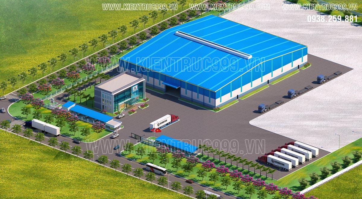 nhà máy thép Tung Wang Bà Rịa góc nhìn từ fly cam