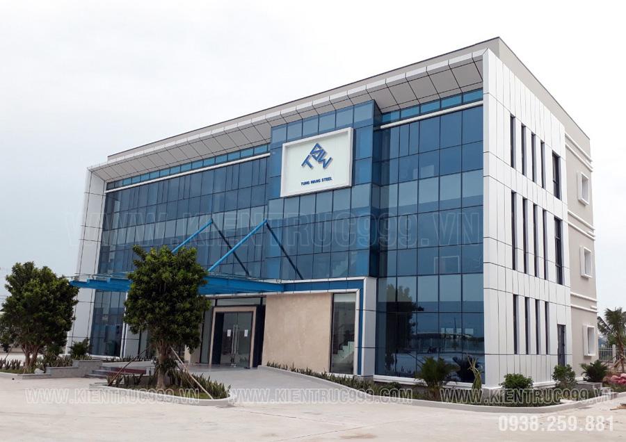 mẫu thiết kế tòa nhà văn phòng hiện đại mới nhất năm 2019