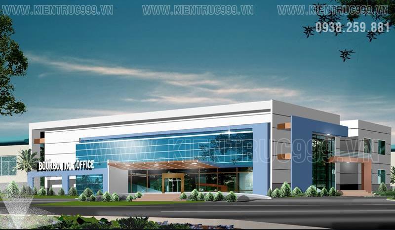 Nhà điều hành khu công nghiệp Bornbon - Tây Ninh