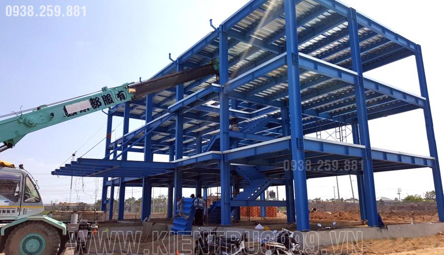 xây dựng nhà xưởng kết cấu thép tiến độ nhanh nhất