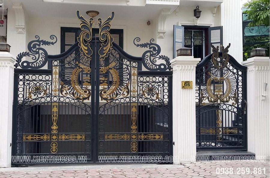 cách bố trí cổng nhà, vị trí đặt cổng nhà hợp phong thủy