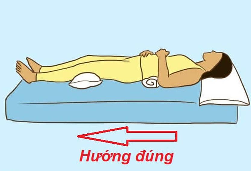 Hướng giường ngủ là hướng đầu giường hay đuôi giường