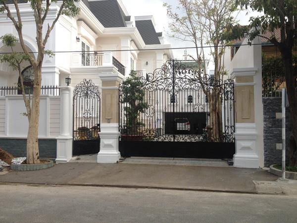Phong thủy cổng nhà, cách bố trí cổng vào nhà đúng nhất