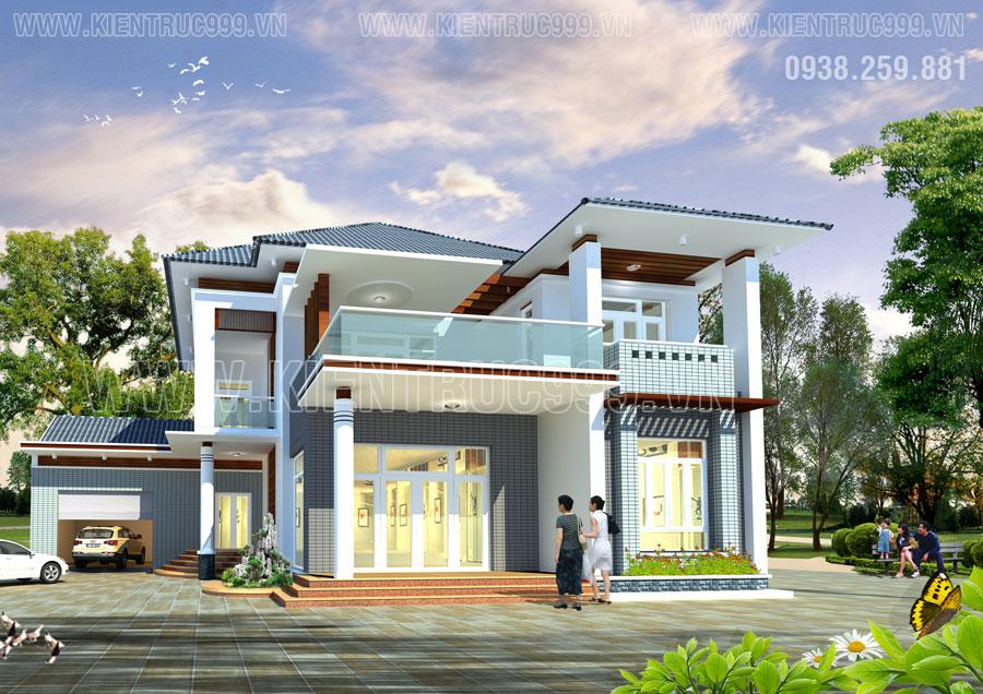 Thiết kế nhà ở theo phong thủy ở thành phố buôn mê thuột