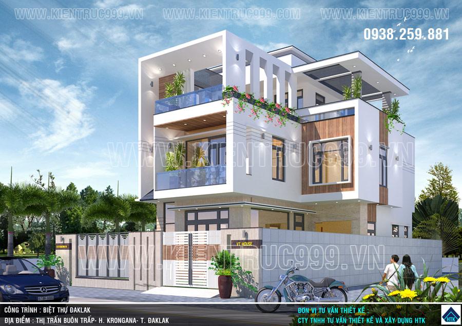 Thiết kế nhà ở theo phong thủy ở thị trấn buôn trấp huyện krông ana