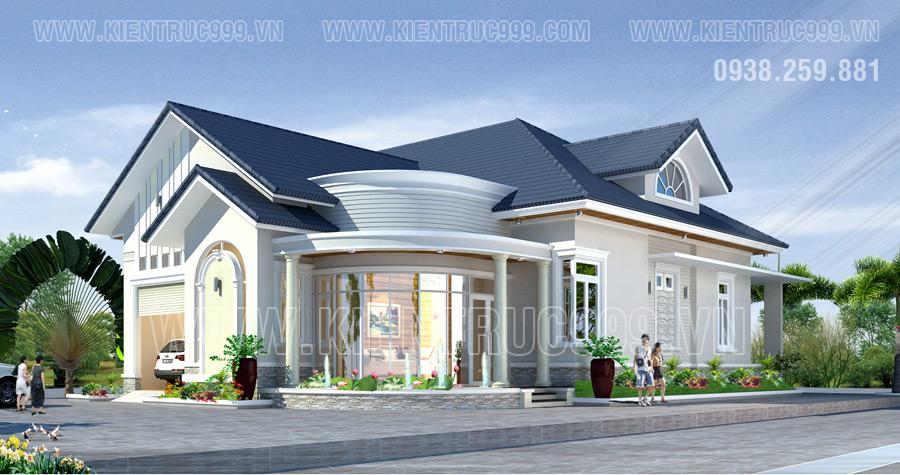 Thiết kế nhà ở theo phong thủy ở long thành- đồng nai
