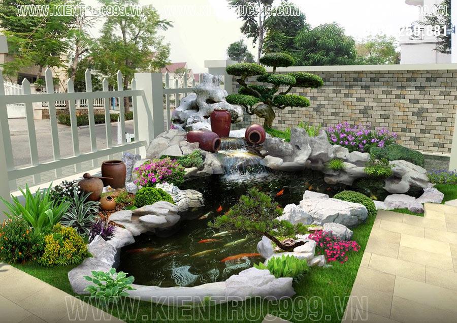 Bình gốm và cách bố trí phong thủy sân vườn