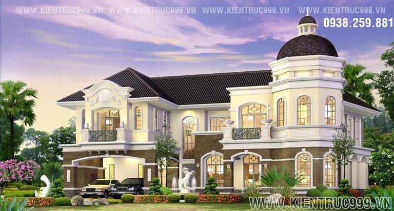 Tuyển tập các mẫu biệt thự Thái Lan 2 tầng đẹp sang trọng bậc nhất