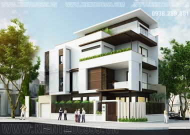Nhà phố 2 mặt tiền đẹp hiện đại nội thất tinh tế Vũng Tàu