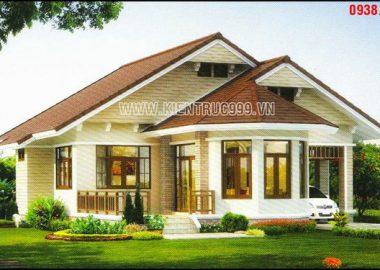 Thiết kế nhà vườn 1 tầng đẹp kiến trúc Thái Lan.