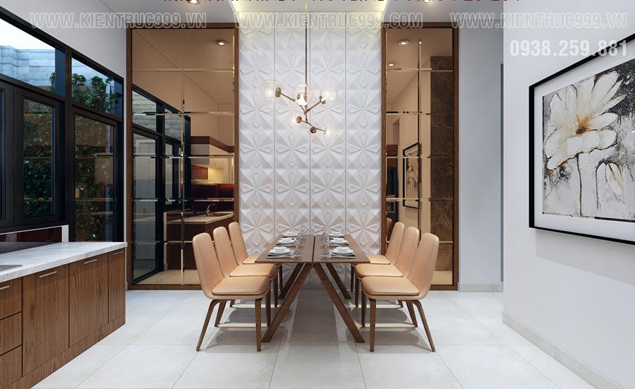 thiết kế nội thất phòng bếp tân sơn nhì hiện đại
