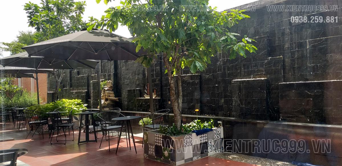 Thiết kế quán cà phê sân vườn nhỏ đẹp Full House