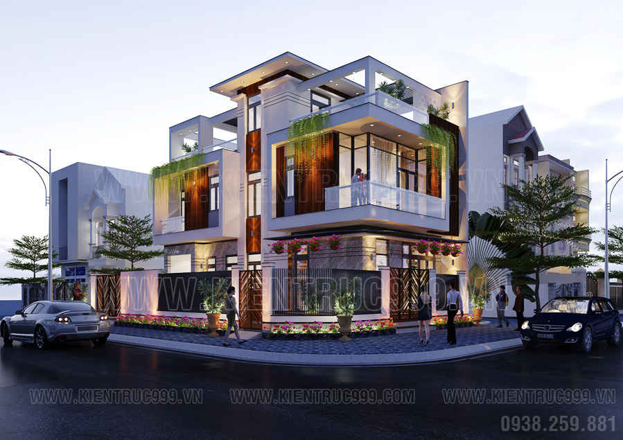 Mẫu nhà đẹp 2 tầng 6x14m
