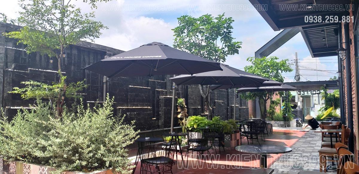 Thiết kế quán cà phê sân vườn Full House Coffee - Bình Tiền 1 - Đức Hòa