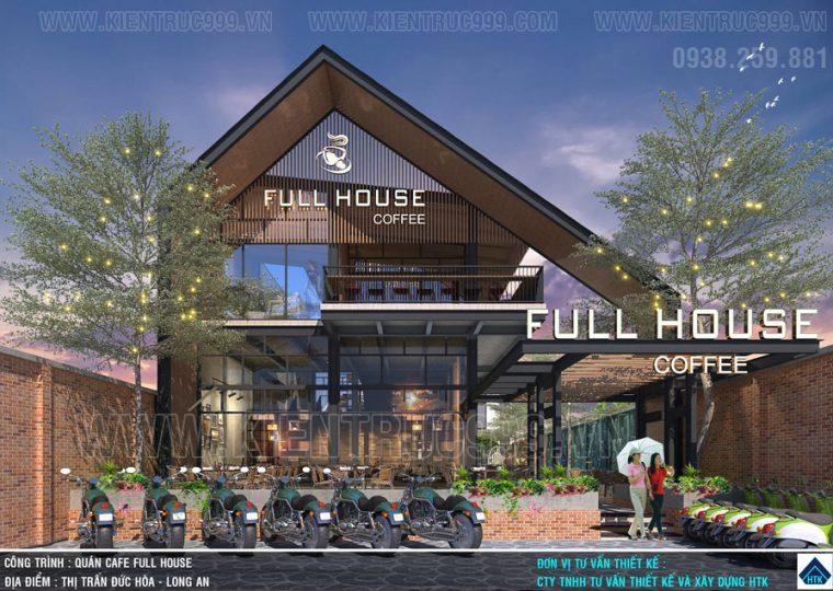 Thiết kế quán cafe đẹp lại chất chinh phục triệu con tim Long An