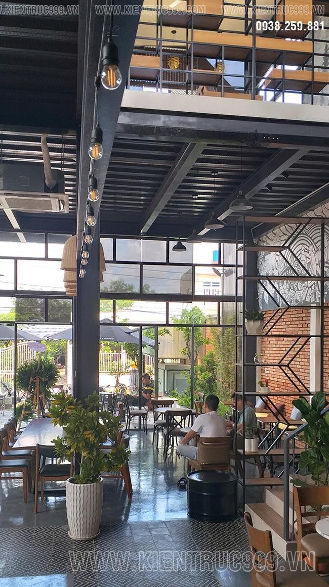 Thiết kế thi công quán cafe tphcm mới nhất