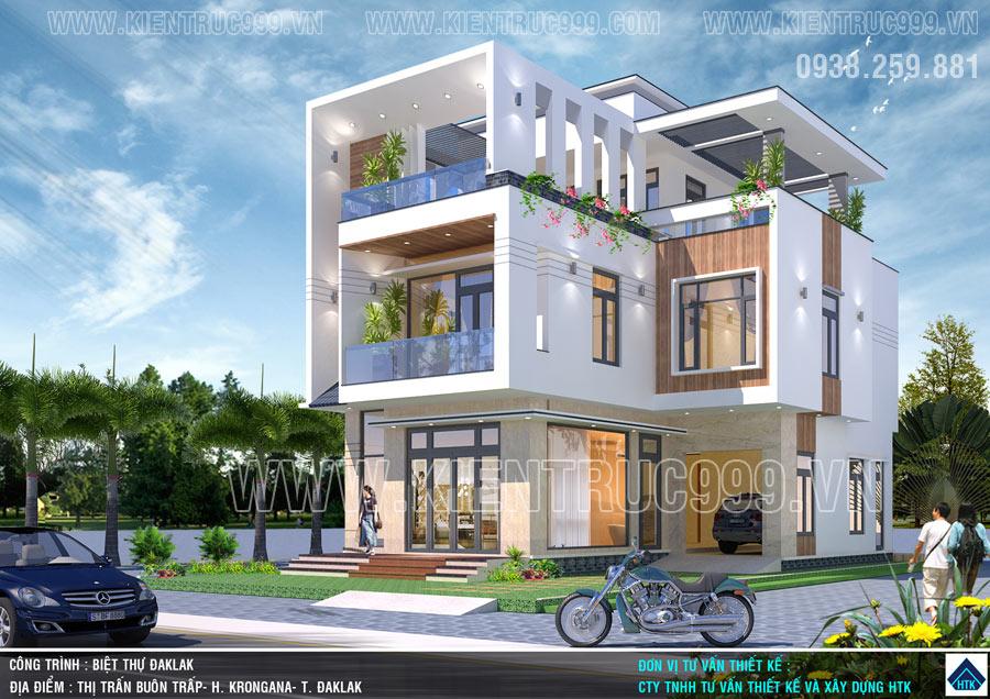 Nhà đẹp 3 tầng hiện đại 2020