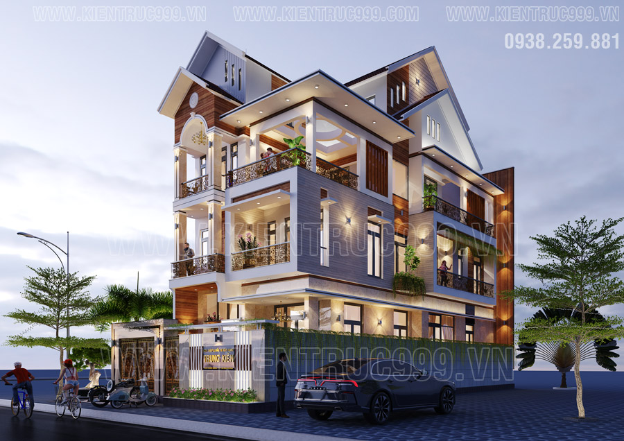 Thiết kế nhà 3 tầng đẹp nhất năm 2020