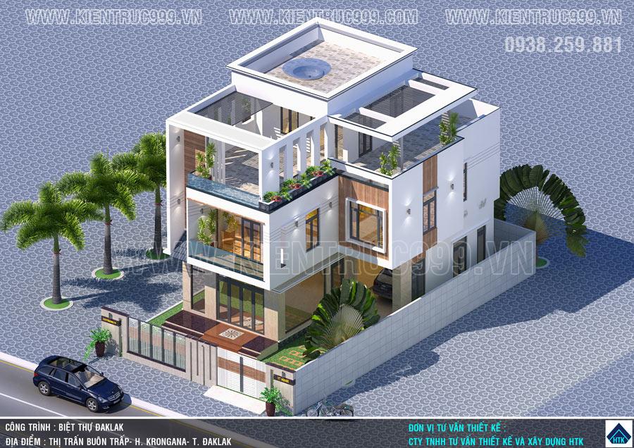Thiết kế nhà 3 tầng đẹp từ tổng thể đến chi tiết